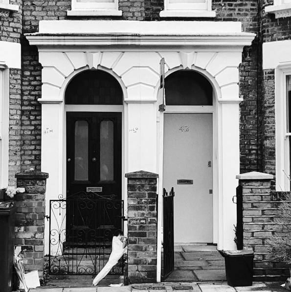 David Bowie's childhood home in Brixton
