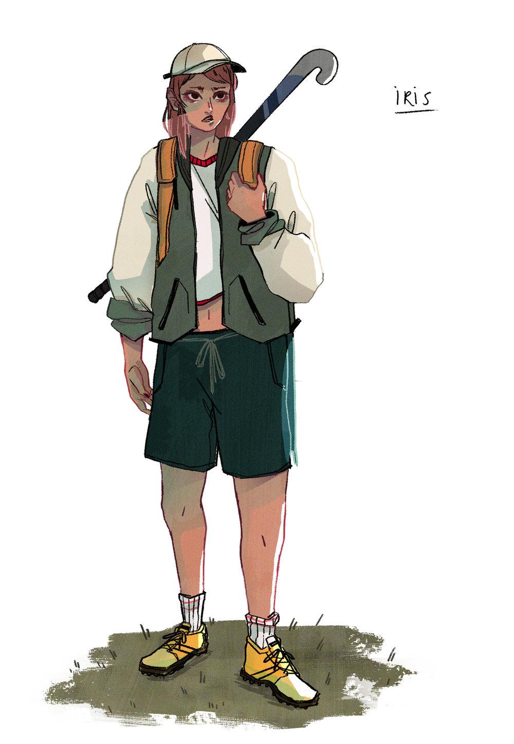 - IRIS Main Character Design