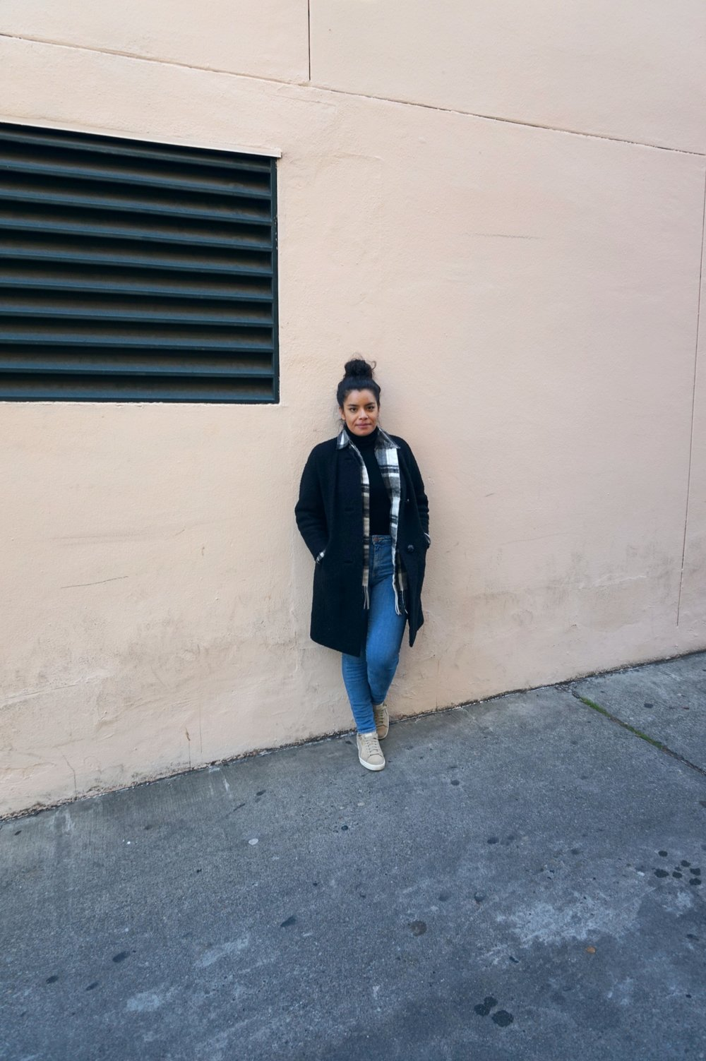 thrifted outfit in seattle, washington