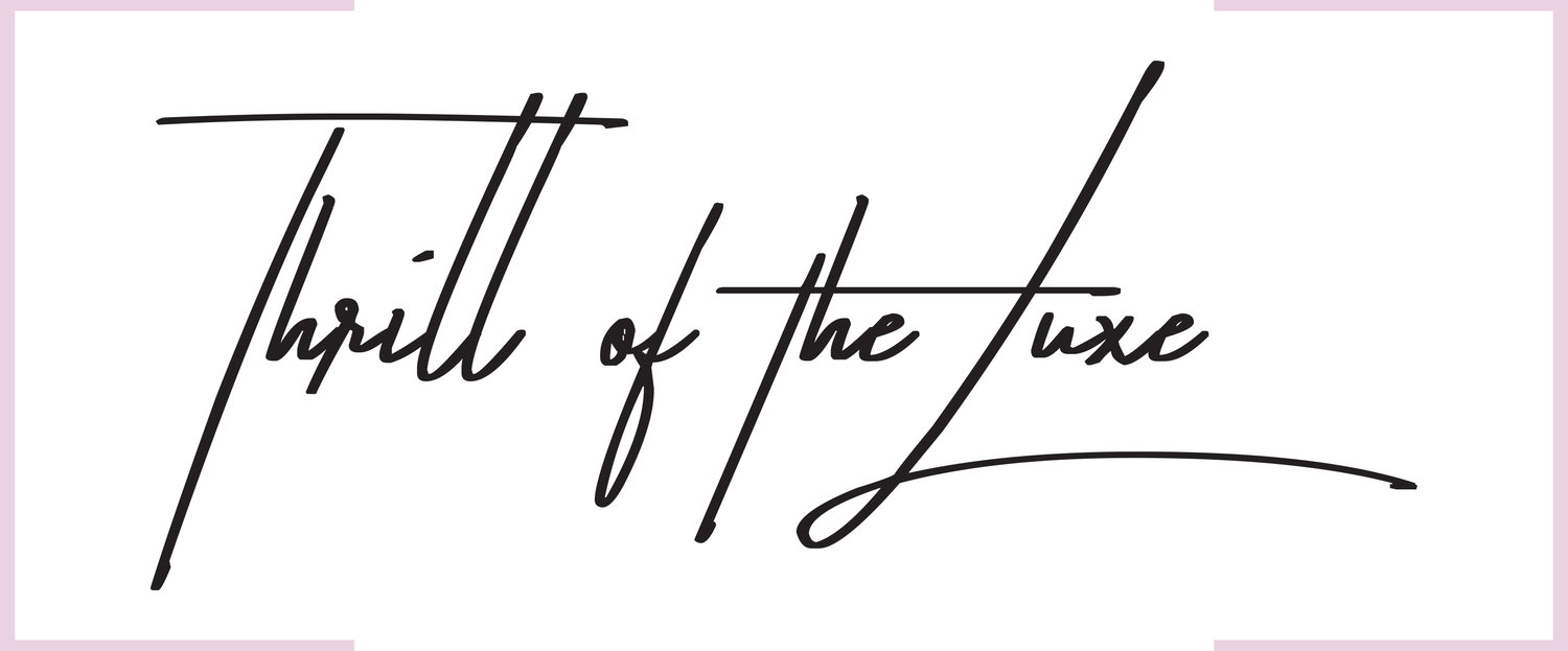 Thrill of the Luxe | Luxe Vintage & Designer Online Boutique