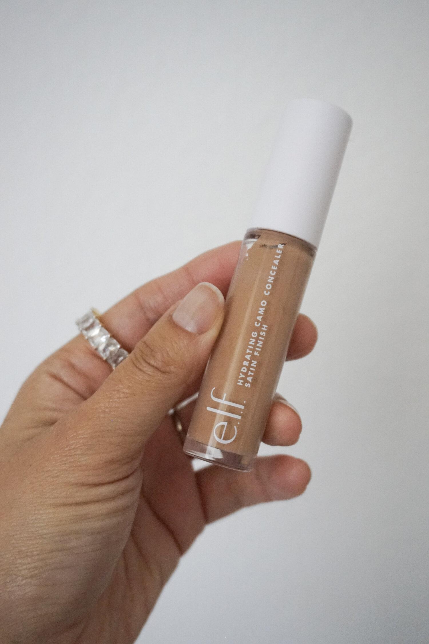 elf hydrating concealer-tan walnut DUPE for Tarte Shape tape concealer