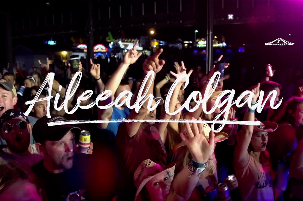 Aileeah Colgan promotional - Country Fest, 2018.
