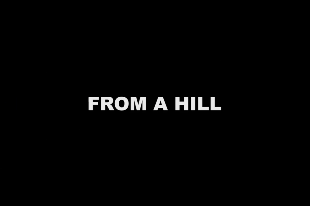 From a Hill - Exploring life from a hill.