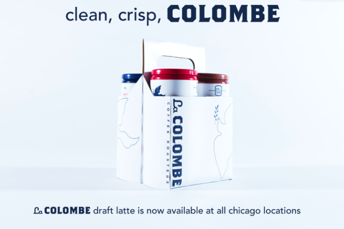 La Colombe Draft Latte - Clean, crisp, Colombe.