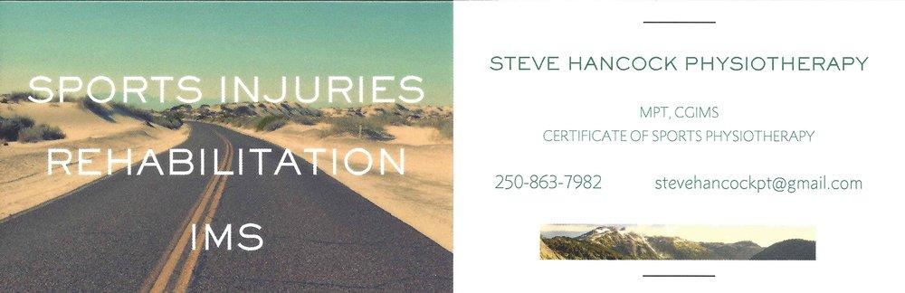 Steve Hancock Physiotherapy
