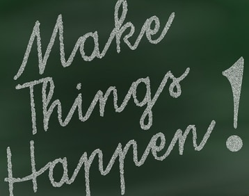 Life Coaching Image of Make Things Happen
