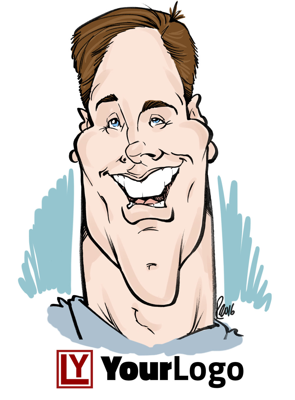Live Digital Caricature Sample 1