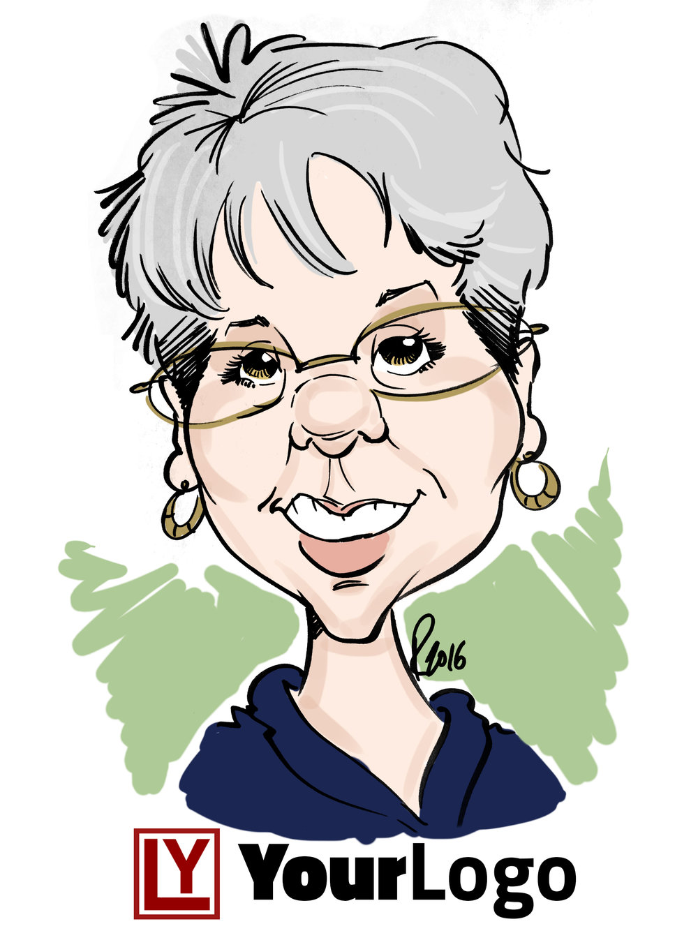 Live Digital Caricature Sample 4