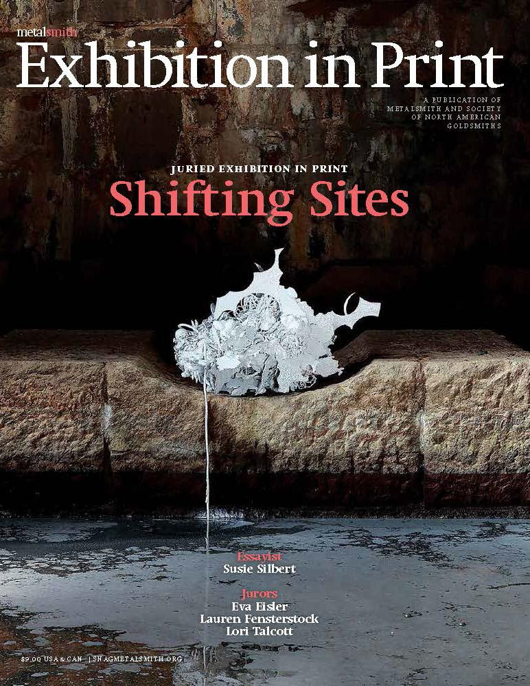 Cover of the August issue of Metalsmith Magazine