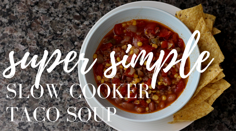 simple taco soup recipe1