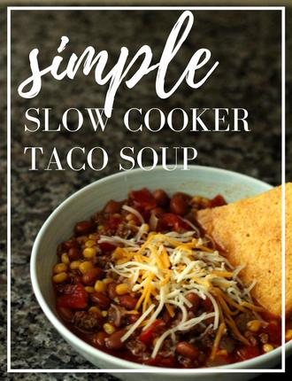 simple taco soup recipe3