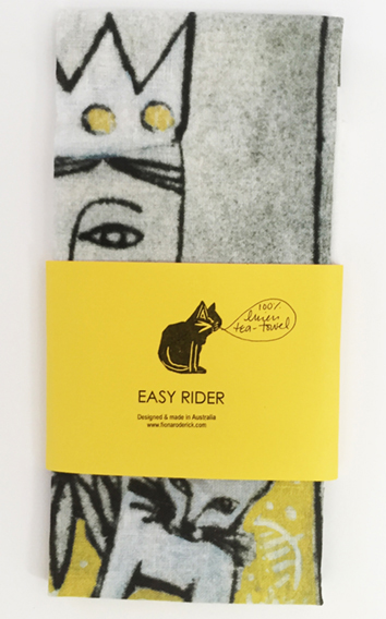 Easy Rider Tea Towel