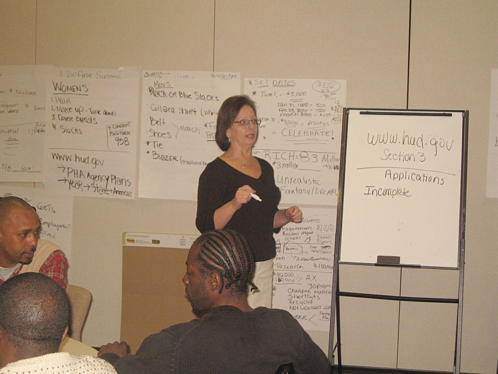 Americus HA Employment Readiness Training January 11, 2010 (24).JPG