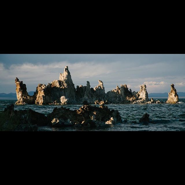 Mono Lake.  #directorofphotography #cinematography #cinematographer #setlife #onset #assitantcamera  #cameradept #cameradepartment  #alexa #arrialexa  #dop #dp  #shotonalexa #arri  #prestonfiz #commercials #mammothlakes #mammothmountain #clouds #monolake #nationalpark #nikond800