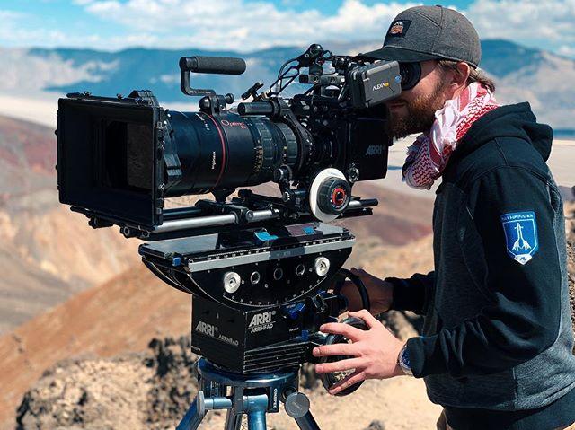 Filming some Military Jets....... . . . #directorofphotography #cinematography #cinematographer #setlife #onset #assitantcamera  #cameradept #cameradepartment #1stac  #alexa #arrialexa #alexamini  #dop #dp  #shotonalexa #arri #angenieux #optimo12x #bertonevisuals #bertonevisualsproductions #shotonlexar #arrigearhead #gearhead #mammothbrewing #jeditransition #panamintvalley #chinalake
