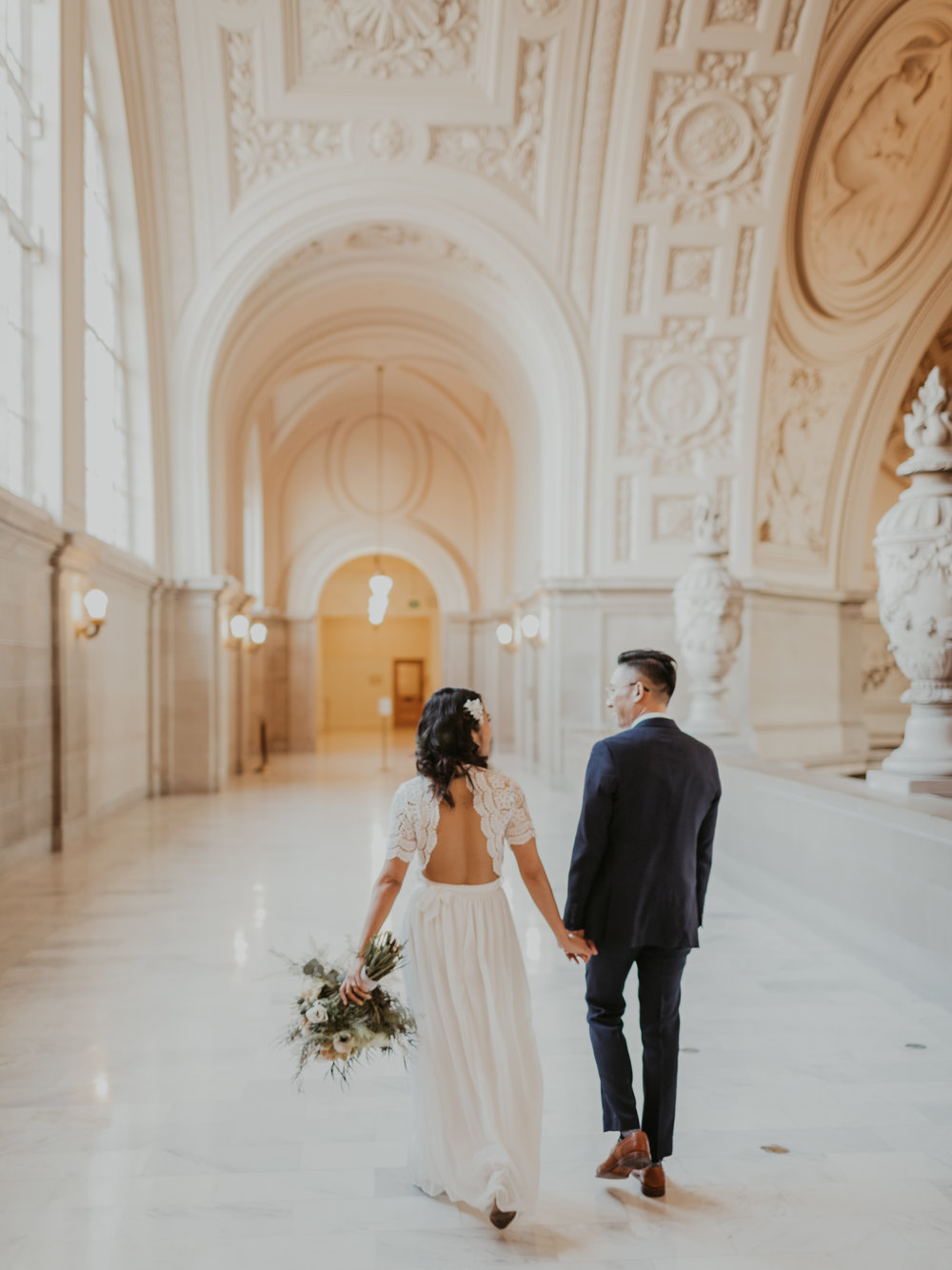 First Wedding of 2019! - Happy 2019! Here are some photos from my first wedding in the New Year!The location is at one of my favorite spot, San Francisco City Hall! If you get married there, please hire me!-xot.