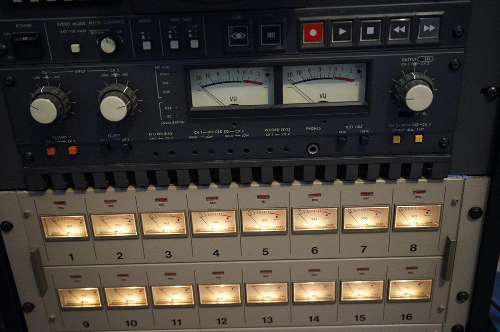 16 Track Analog Tape