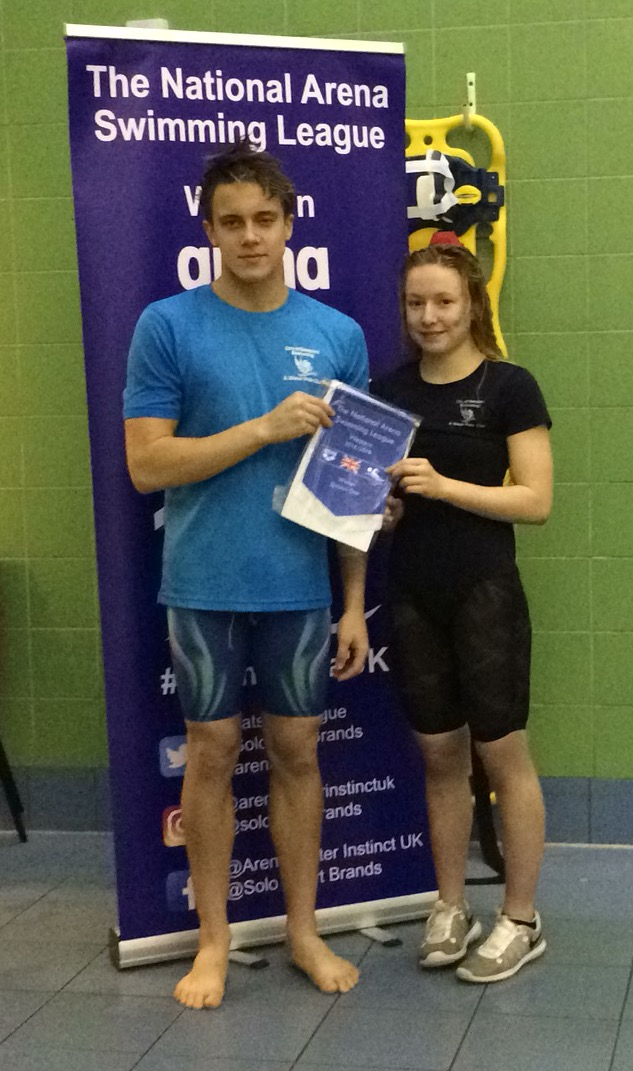 d05540f5a0 Team_Captains_Megan_Allison_and_Alex_Griffiths_with_the_winners_trophy.JPG.  The City of Newport Swimming Club ...