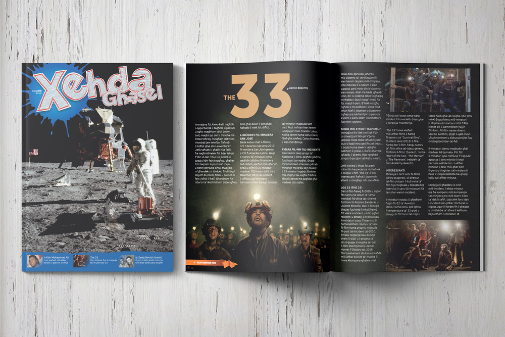 'Xehda Għasel' is a long-running magazine for youth. Distributed in a growing number of schools and in all the M.U.S.E.U.M. centres, this magazine aims to instill in the young generation a love of reading and knowledge while helping them understand the beauty of the Christian faith and life.