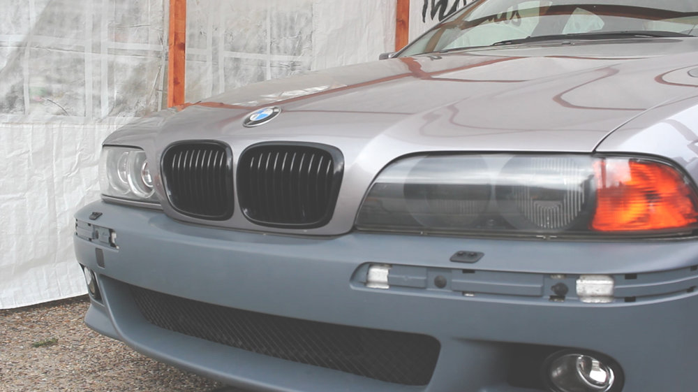 Mömus BMW E39 Comparision facelift Quad Projector Mod Headlights Facelift