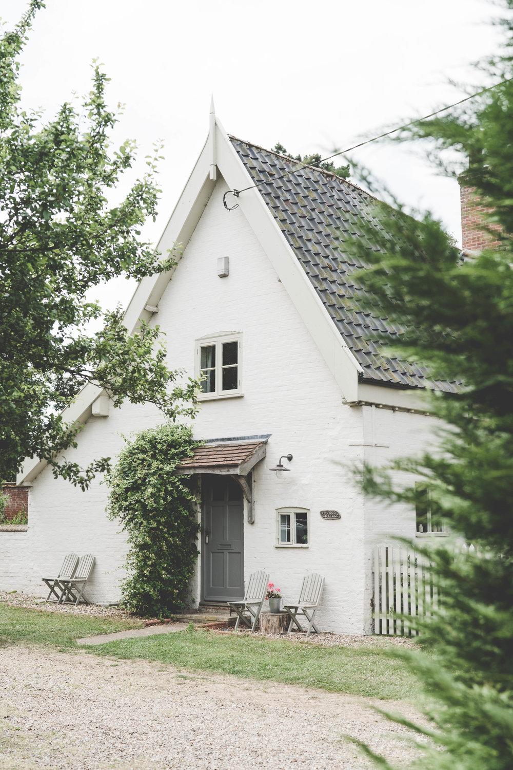 Cottage entrance