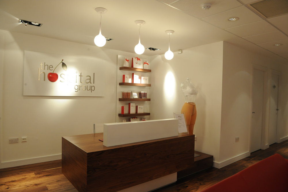 """The Hospital Group - """"Both the Leeds & Sheffield clinics were beautifully fitted to exacting standards, ensuring a comfortable and exceptional experience throughout"""