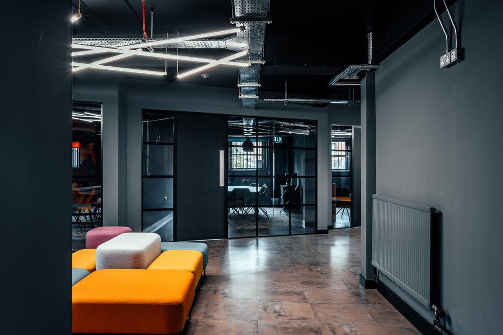 Claritas Solutions' Client Meeting Suites
