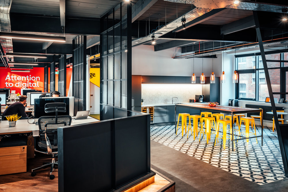 Transform your office into an inspiring and functional space //  Engage, Leeds