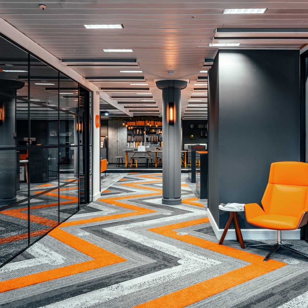 EXCITING ENVIRONMENT - We have to practice what we preach, and that's why our staff lay claim to one of the best offices in Harrogate!