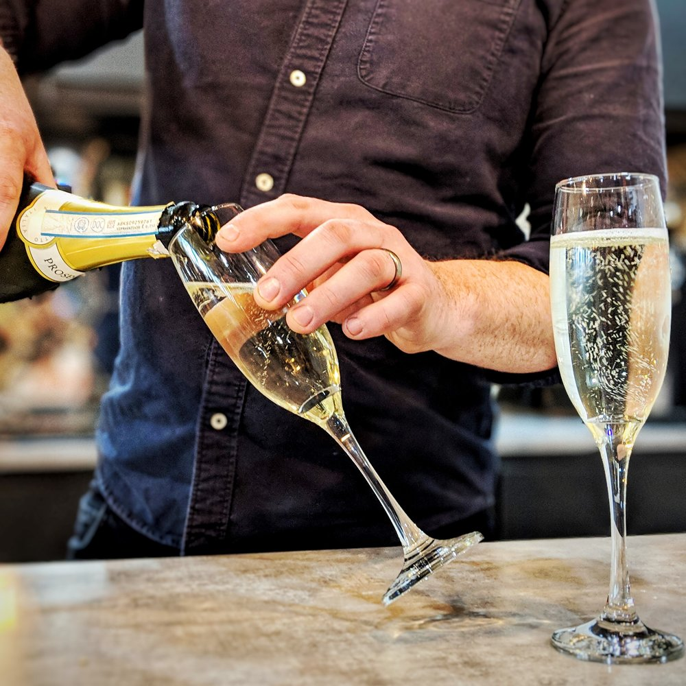 FIZZ FRIDAYS - Fridays were already great, but they're even better when they start with a bacon sandwich and finish with fizz!