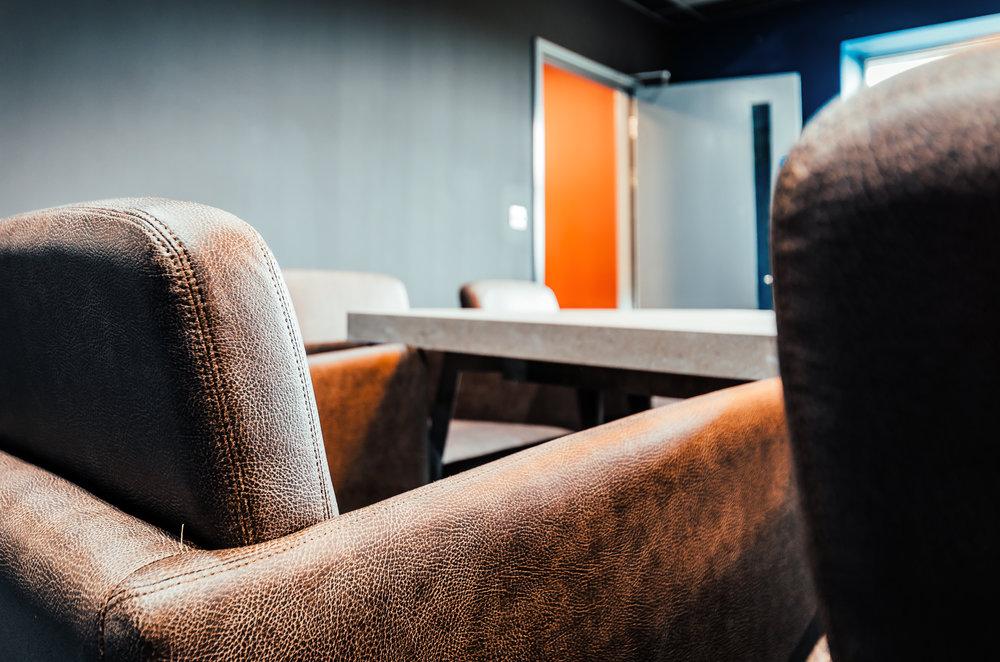 Morgan London's City Meeting Chairs