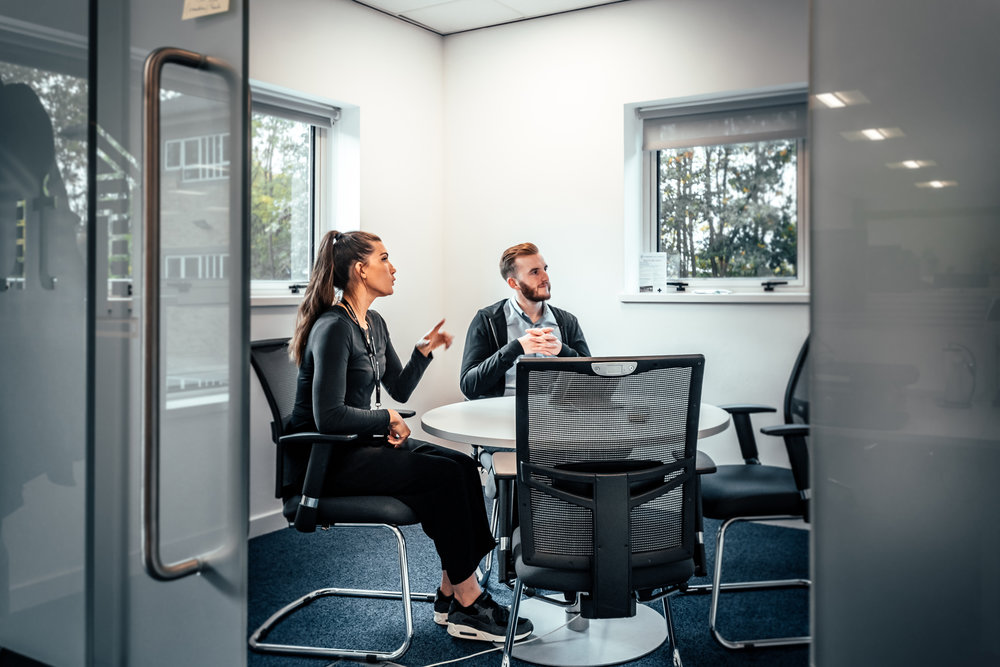 Invest in the Right Ergonomic Furniture Solutions //  FinancialForce, Harrogate