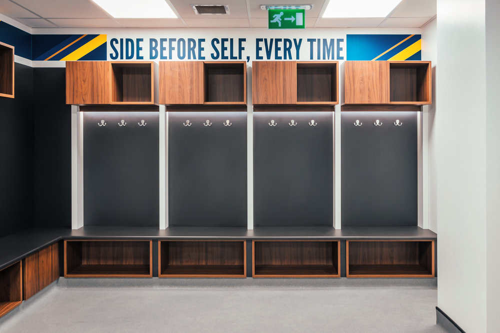 Leeds United Changing Rooms