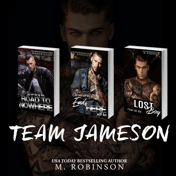 LIMITED TIME ONLY-SIGNED PAPERBACKS!  I have Lost Boy Signed Paperbacks up on my website! Along with a Team Jameson Bundle option (Road To Nowhere, Ends Here, Lost Boy)!   https://www.authormrobinson.com/shop/   IF YOU ALREADY BOUGHT ONE FROM AMAZON, YOU CAN SHIP TO ME BUT MUST INCLUDE RETURN SHIPPING.  M. ROBINSON  PO BOX 7177  BRANDON FL 33508