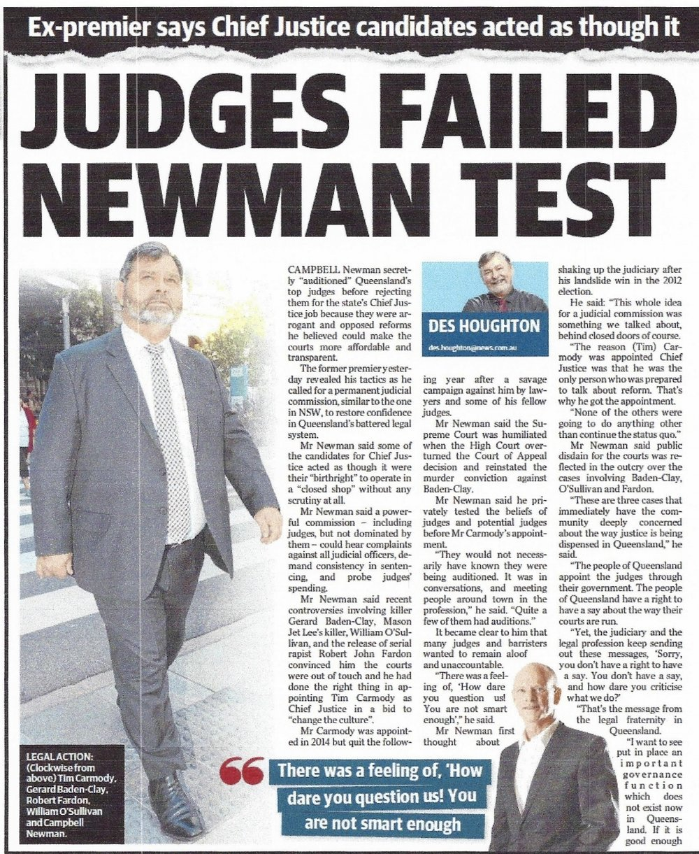 Article from the Sunday Mail - Brisbane - 16 September 2018_page 1.jpg