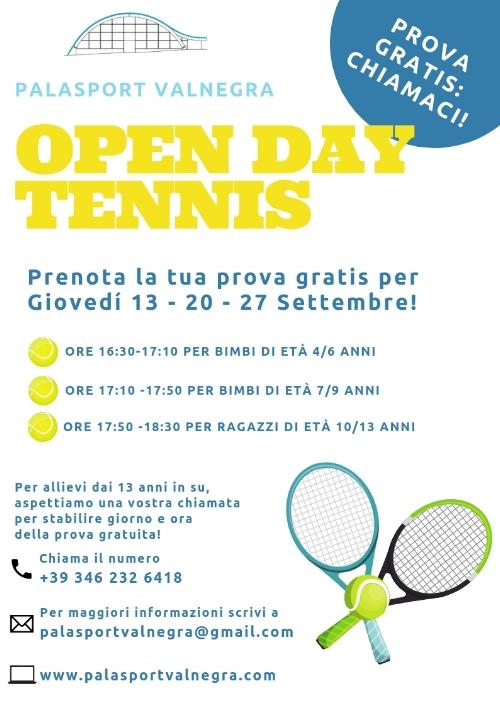 prova gratis tennis valnegra