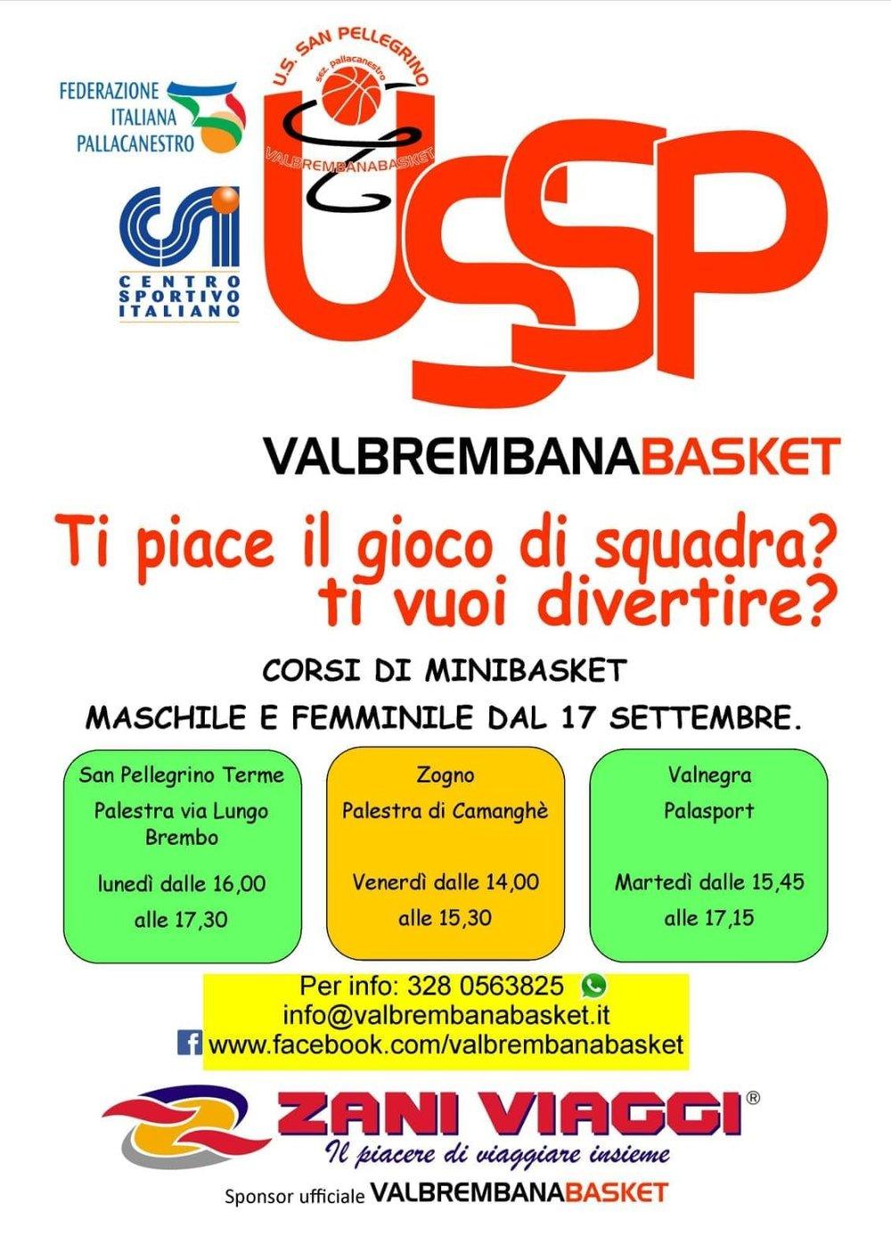 Mini Basket Valbrembana Valnegra