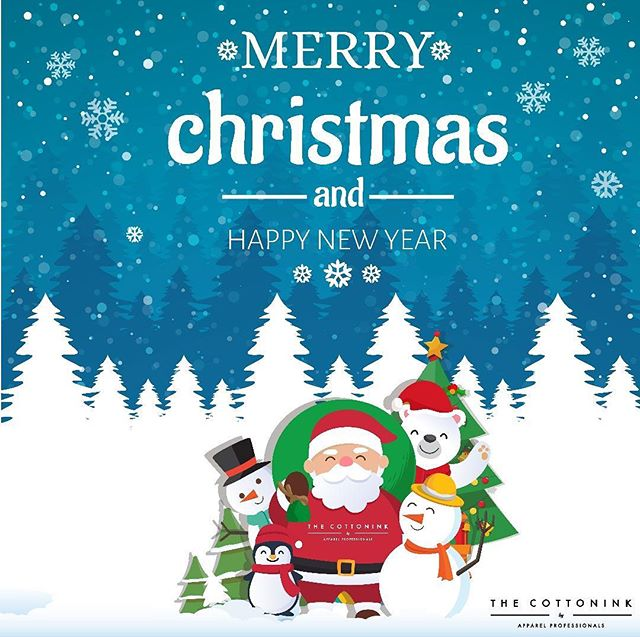 The Family here at The Cottonink would like to wish everyone a Merry Merry Christmas and a Happy New Year to you and your loved ones!  Thank you very much for all the support throughout the year! What a year it has been! Looking towards 2019! - - - #Tshirtprinting #Tshirtprintingmalaysia #TshirtprintingKL #inks #design #logo #customtees #Tshirtshop #shirtstyle #packaging #Tshirtprint #Tshirtcustom #cetakbaju #tshirtlovers #printedTees #tshirtonline #thecottonink #prints #Apparel #Christmas #holidayseason #family #NewYear
