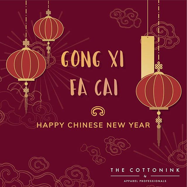 Everyone here at @the_cottonink would like to wish you and your family a Happy Chinese New Year and hope this new year brings your lots of joy and prosperity! 🎉🍊 #ChineseNewyear2019 #Thecottonink #printing #Silkscreenprinting #tshirtprintingmalaysia #tshirt #tshirtdesign#tshirtshop #passionforprints #prints #CNY #tshirts #tshirtslovers #apparel #apparelprinting