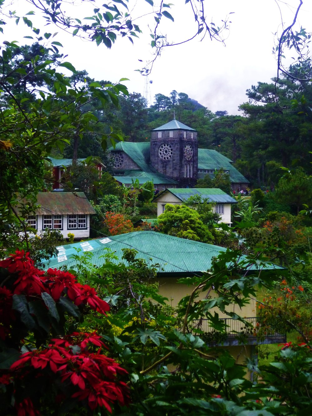 The lush but mysterious mountain town of Sagada...