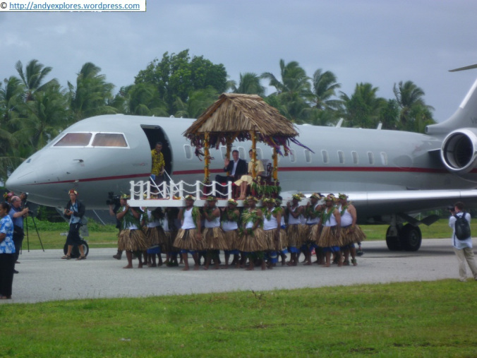 Uplifting welcome to Tuvalu...