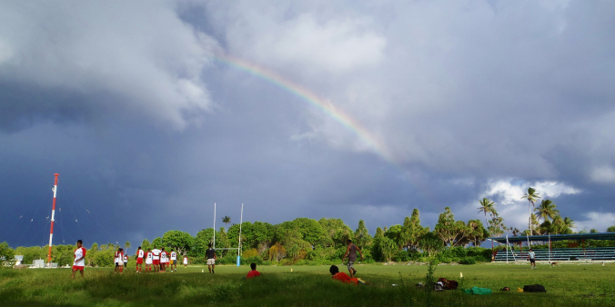 Tuvalu's answer to Twickenham...