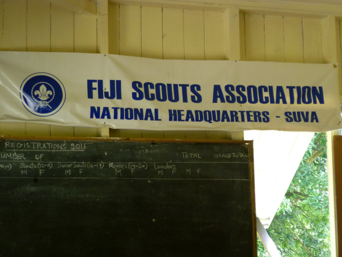The Fijian national Scout headquarters - oddly missing from my travel guide...