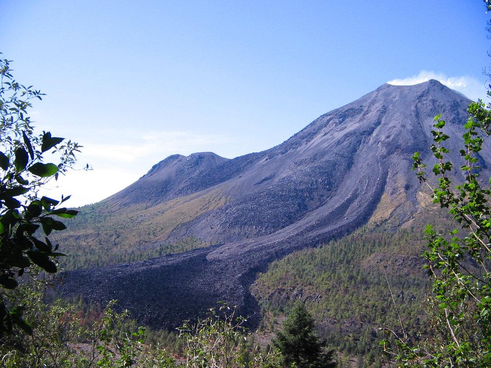 Fresh Mexican lava flows...