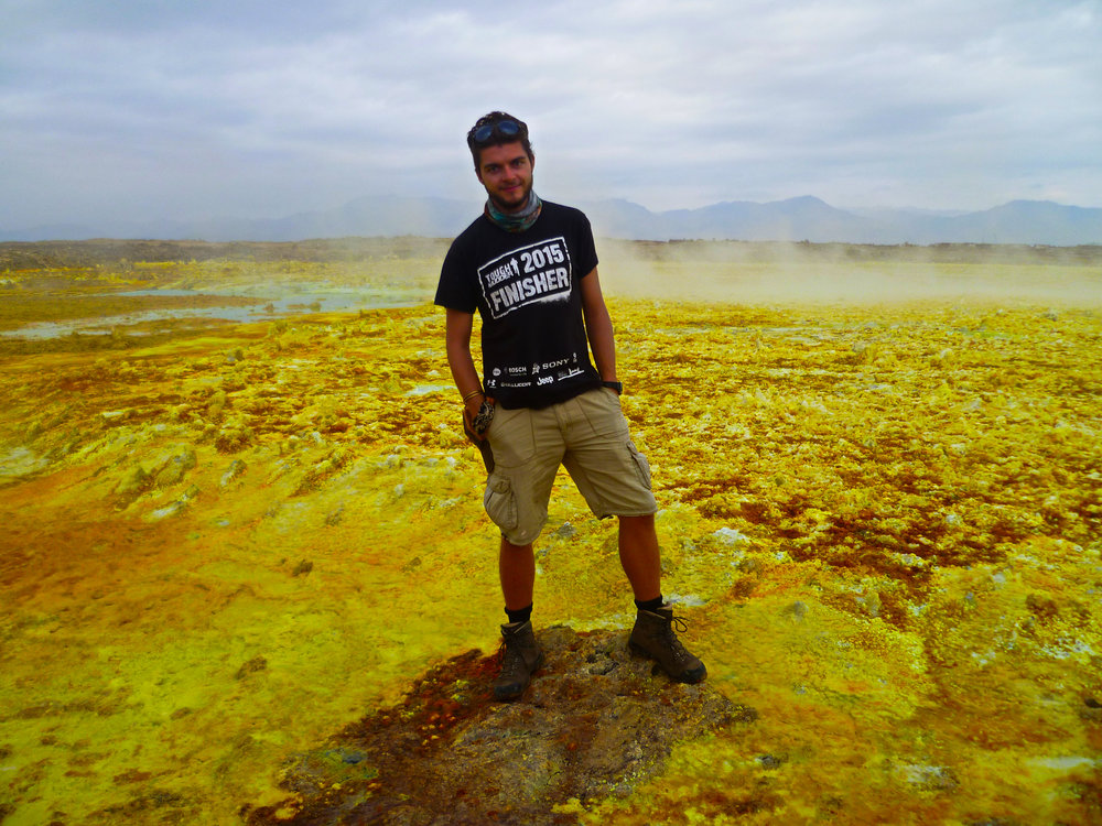 The Dallol in the Danakil Depression - Truly out of this world...