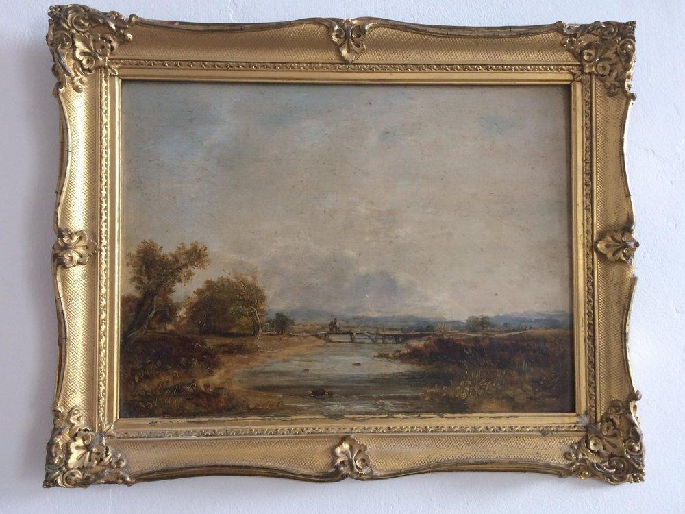 River scene, Norwich - James Stark 1850