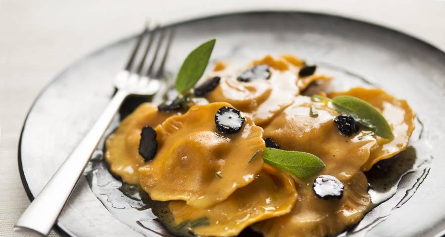 Ravioli di Zucca | www.tastetrailsrome.com | Cookery holiday