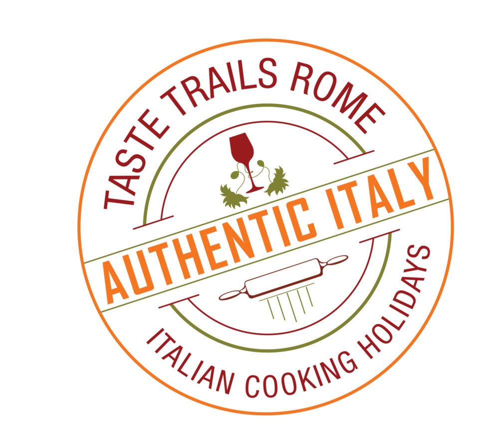 logo www.tastetrailsrome.com cooking courses Italy