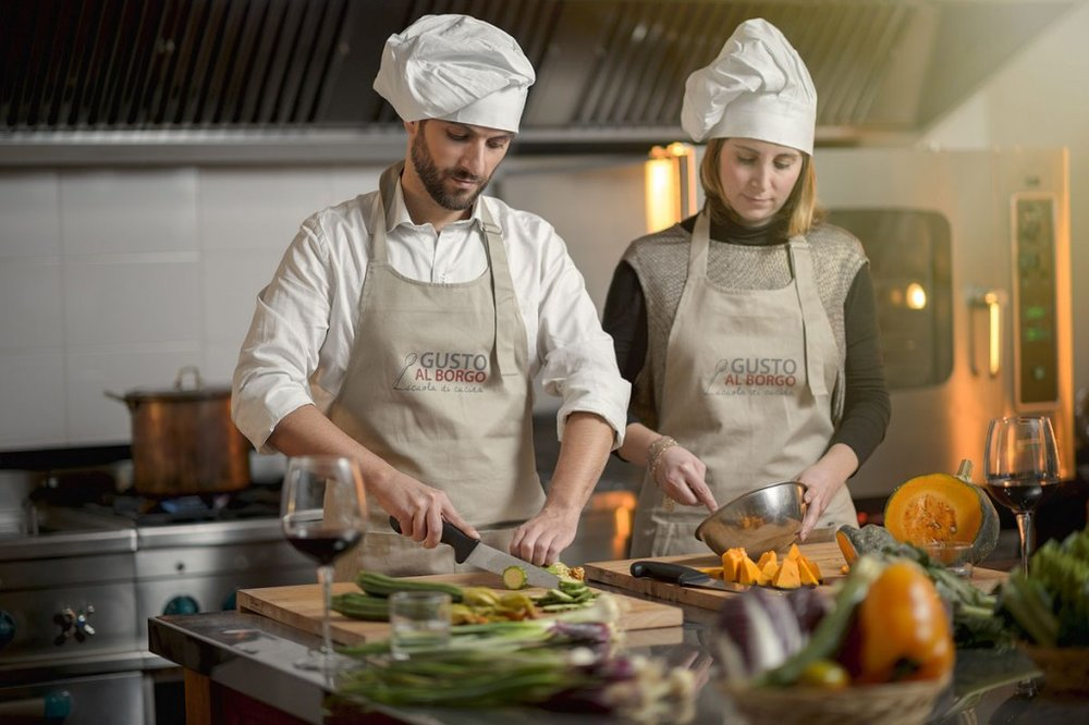 Cooking classes for couples with Paula @ GAB | Taste Trails rome