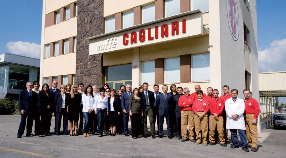 Caffe Cagliari's state of the art roasting plant - Modena www.tastetrailsrome.com